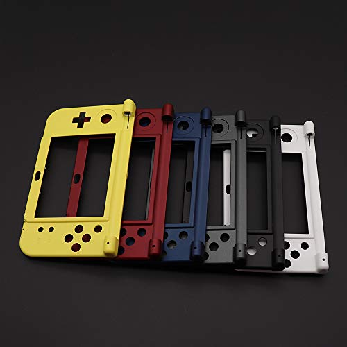 Middle Shell Housing Case Cover Middle Frame Plate for Nintendo New 3DS XL New 3DS LL Replacement (Black)
