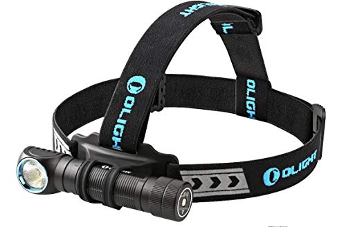 Photo of Olight Rechargeable 18650 Headlamp Flashlight H2R, Supper Strong Cool White LED 2300 Lumens, Multifunctional Head Torch for Outdoors and Indoors