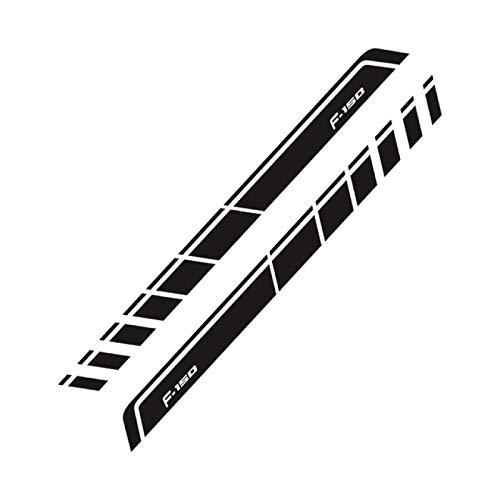 XHULIWQ 2PCS Autotür Seitenrock Aufkleber, Für Ford Ranger Raptor F150 F250 F350 F450 F550 F650 Pickup