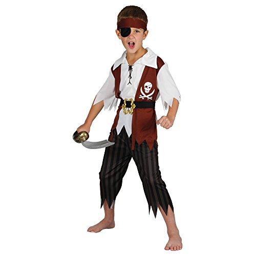 Cutthroat Pirate - Kids Costume - Medium (Age: 5-7 Years)