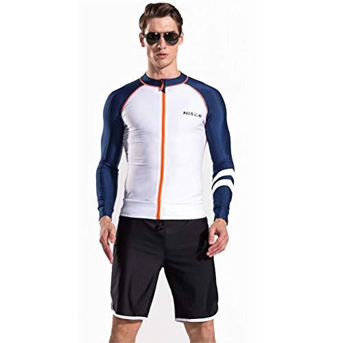 Mannen Wetsuit, 0,5 mm Split zonnecrème sneldrogend snorkelen heren ritssluiting lange mouwen badpak kwalle kleding duikpak aanbieding voor beginners en sportfans