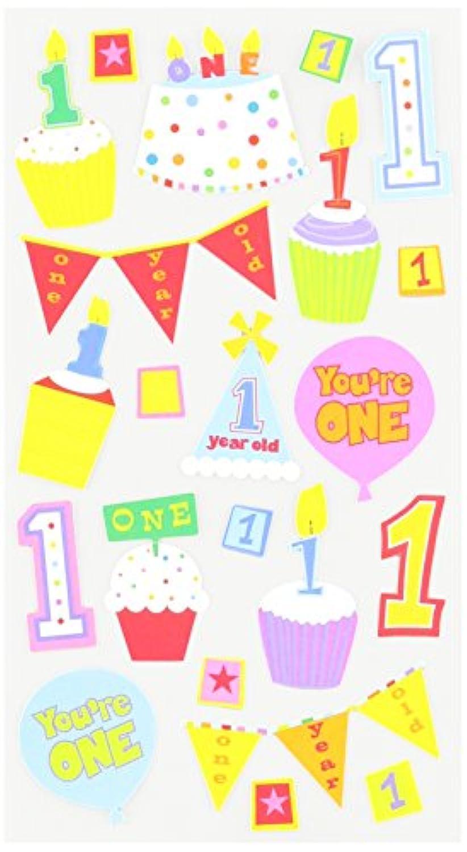 Sticko E5200689EK Success Baby's First Birthday Stickers