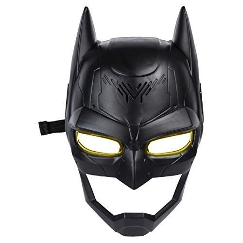 BATMAN, Voice Changing Mask with Over 15 Sounds, for Kids Aged 4 and Up