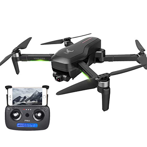 Drones with Camera for Adults 4k - Foldable 1080P UHD Lens RC Drone, Wide-Angle Real-Time Video RC Drone with Altitude Hold Function, One-Key Takeoff/Landing, Drones for Kids 12-14 and Adults