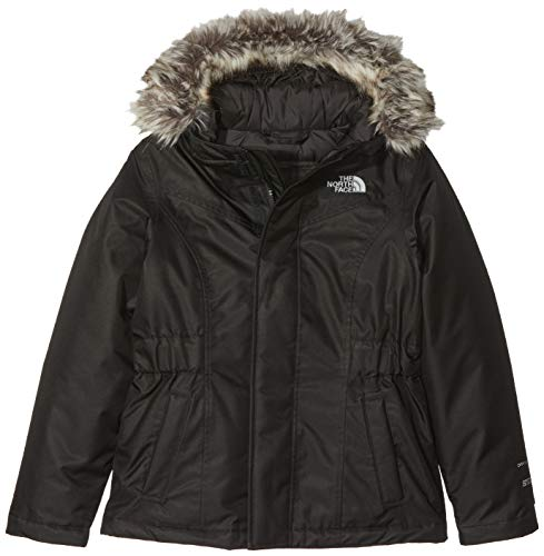 The North Face Greenland Veste Fille, TNF Blk/TNF Blk, FR : S (Taille Fabricant : S)