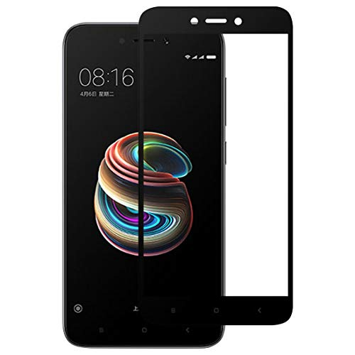 Jiangym Mobile Phone Tempered Glass Film Full Glue Full Cover Screen Protector Tempered Glass Film for Xiaomi Redmi 5A Tempered Glass Film