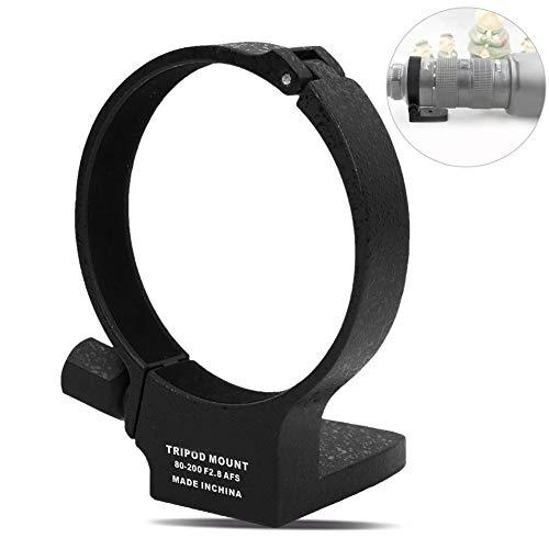 Stativkragen Objektiv, Hochwertige Stativ Ring Objektiv Aluminiumlegierung Kamera Objektiv Stativ Mount Kragen Ring für Nikon 80-400mm f2.8 AFS Objektiv