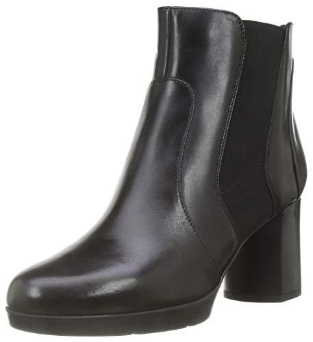 GEOX D ANYLLA MID B BLACK Women\'s Boots Chelsea size 41(EU)