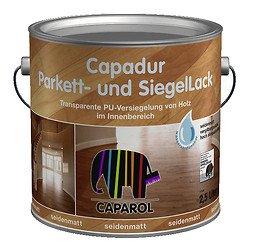 Caparol Capadur Parkettlack und Siegellack 750ml Transparent seidenmatt