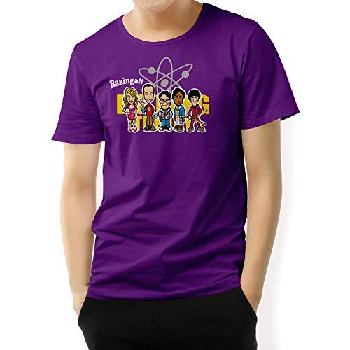 Camiseta The Big Bang Theory (Púrpura,...