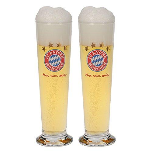 FC Bayern München Pilsglas 2er Set