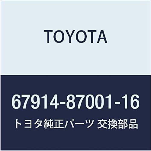 TOYOTA Genuine 67914-87001-16 Plate Scuff Ranking TOP19 5% OFF Door