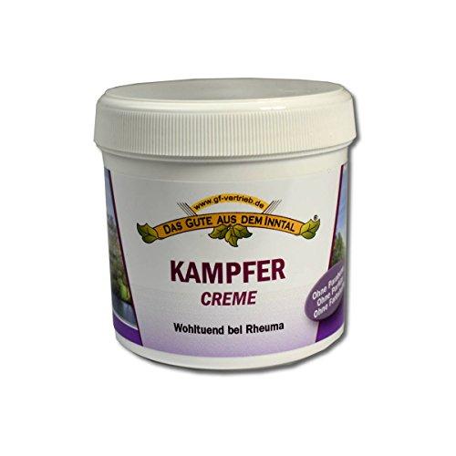 Kampfer Pflege-Balsam (200 ml) - Creme Balsam gegen Rheuma Inkl. 4betterdays Lineal aus Steinpapier - Hergestellt in Deutschland