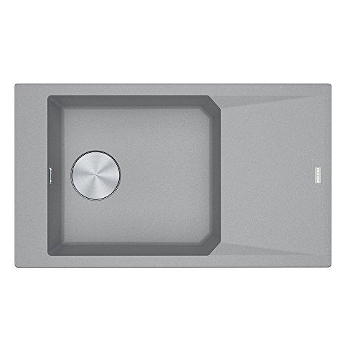 Franke FXG 611–86114.0528.655Fragranit lavello da incasso, colore: grigio pietra