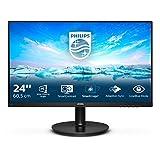 Philips - Monitor 242V8A 60 cm (23,8 Pulgadas), con HDMI, DisplayPort, Tiempo de Respuesta de 4 ms, 1920 x 1080, 75 Hz, FreeSync, Color Negro