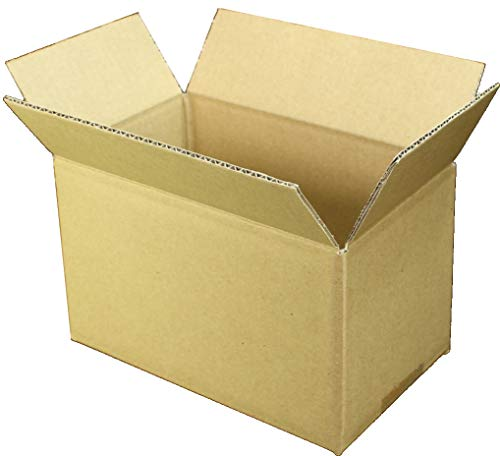 愛パック ダンボール 段ボール 50サイズ 60サイズ 対応 240枚 ダンボール箱 小型 宅配 発送 日本製 無地 薄型素材 (200×120×120mm) 50s05240