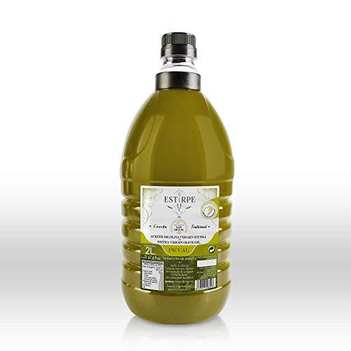 Aceite de Oliva Virgen Extra Premium Estirpe Sin Filtrar -PICUAL (2 Litros)