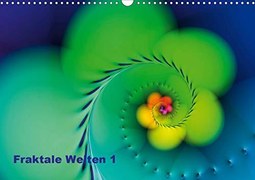 Fraktale Welten 1 (Wandkalender 2021 DIN A3 quer)