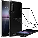LK Case Compatible with Sony Xperia 1 II & 2 Pack 9H Hard