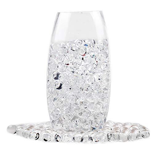 40000 Pezzi Perle d Acqua Trasparenti Che crescono Perle d Acqua Gelatina per Piante vasi tavola dell Acqua riempitivi di Pinata Scrigno del Tesoro Matrimonio e Decorazioni per la casa(450g)