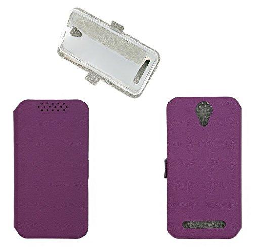 QiongniAN Hülle für Archos 50e Neon Hülle Schutzhülle Hülle Cover Purple