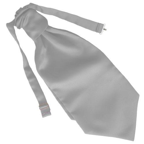 Great British Tie Club Mariage Ruche Cravate - différentes couleurs (Blanc)