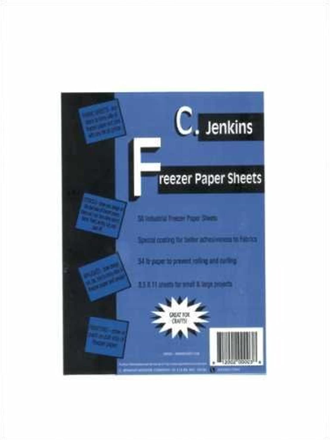C. Jenkins 100 Industrial Freezer Paper Sheets 8.5