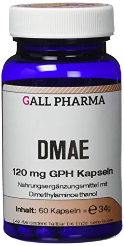 Gall Pharma DMAE 120 mg GPH Kapseln, 60 Kapseln