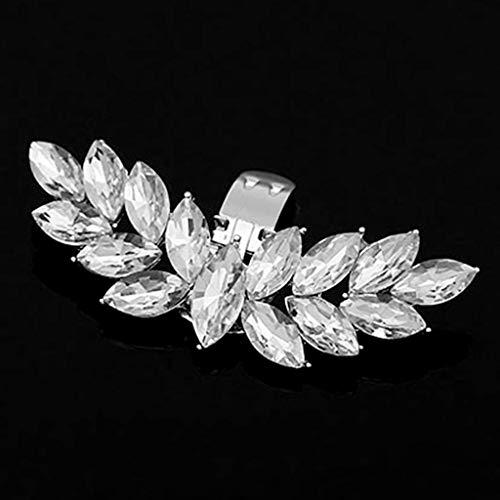 Xuniu Zapato Clip, alas de Diamantes de imitación DIY encantos Hebilla para...