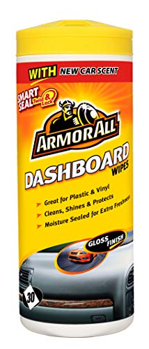 Armor All Dashboard Wipes Gloss Finish - Set of 30