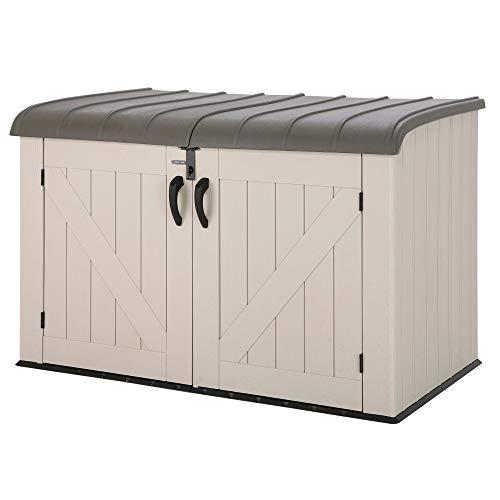 LIFETIME 60170 - Arcón para exterior ultrarresistente 190x106x131 cm UV100