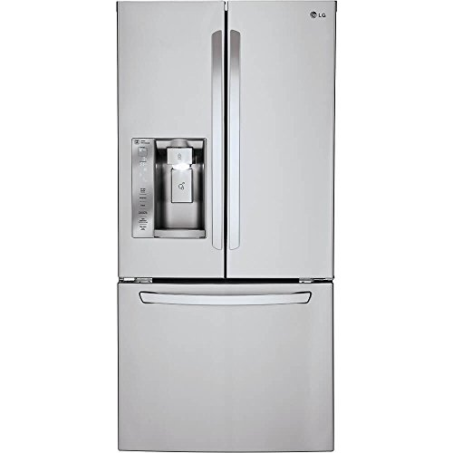 LG LFXS24623S  24.2 cu.ft. Ultra-Capacity French Door Refrigerator, Stainless Steel