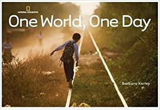 BY Kerley, Barbara ( Author ) [{ One World, One Day By Kerley, Barbara ( Author ) May - 12- 2009 ( Hardcover ) } ]