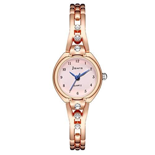 Relojes Para Mujer Pulsera para relojes para mujer Reloj de pulsera de color STAR SIMPLE STAR DIAMANTE INLANCIADO SERVIDO DE ACERO INQUIERDO LADERS RELOJ DE CUARTZ Relojes Decorativos Casuales Para Ni