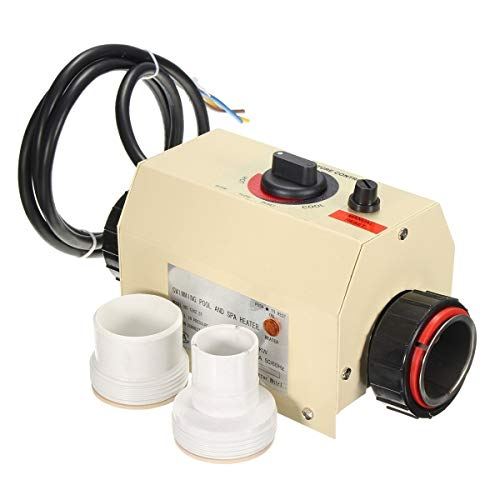 New 220V 3KW Automatic Electric Swimming Pool Thermostat SPA Heater Water Heater Temperature Controller Widely Used in Swimming Pool