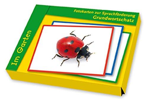 Fotokarten zur Sprachförderung Grundwortschatz: Im Garten