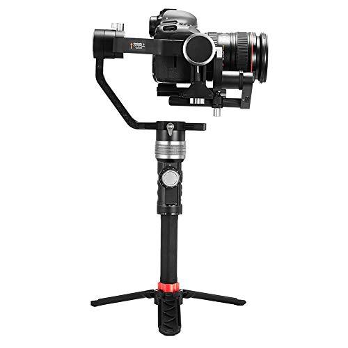 Aluminium Camera Stabilisator Bluetooth Handheld DSLR Camera's Gimbal Accessoire voor Sony voor Canon, Ingebouwd LED-display en Statief, Ondersteunt Bluetooth en APP