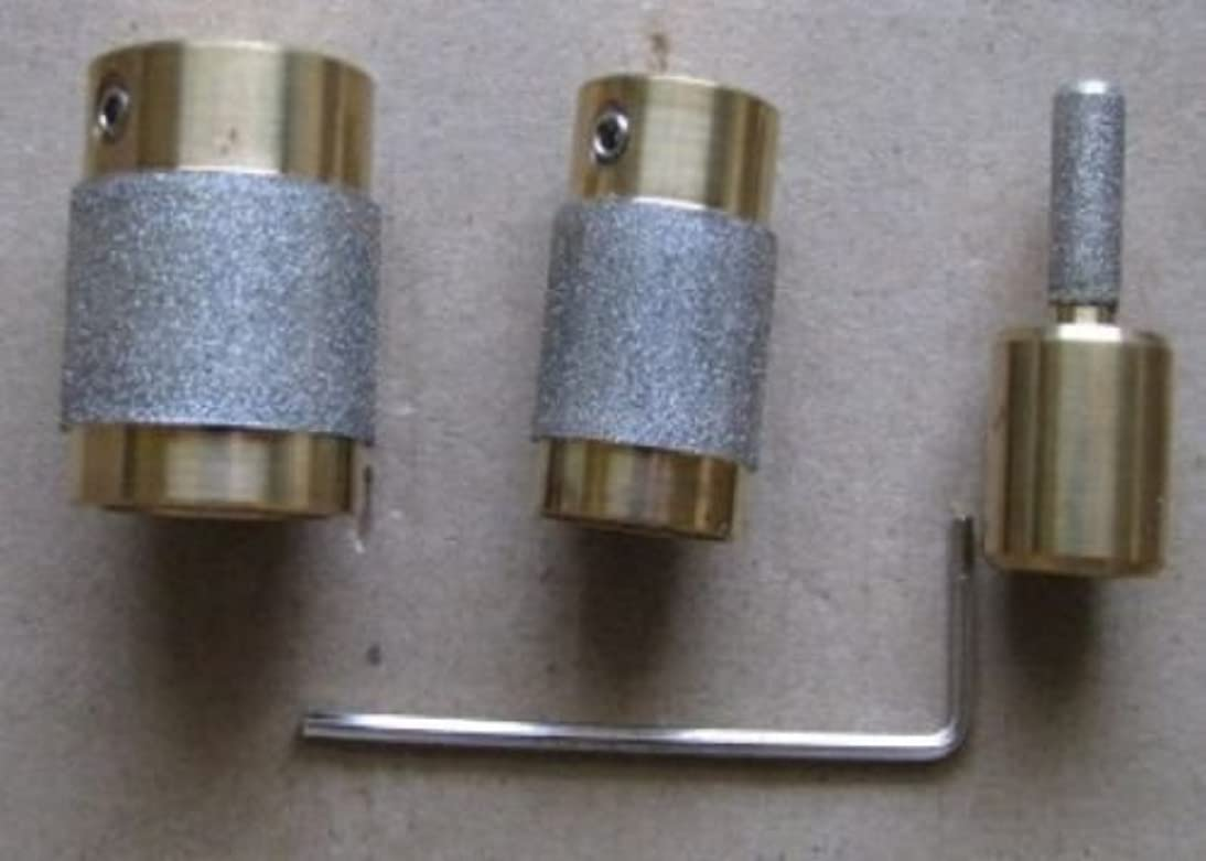 Stained Glass Grinder Head Bit 3 Sizes Quality Brass Core
