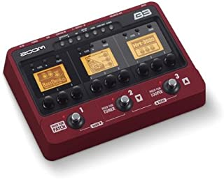 Zoom B3 Bass Guitar Effects and Amp Simulator