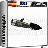 ARROW TUBO DE ESCAPE HOMOLOGADO PRO-RACE CON FONDO INOX EN NICHROM NEGRO COMPATIBLE CON DUCATI MULTISTRADA 1260 S 2018 18 2019 19 71832PRN
