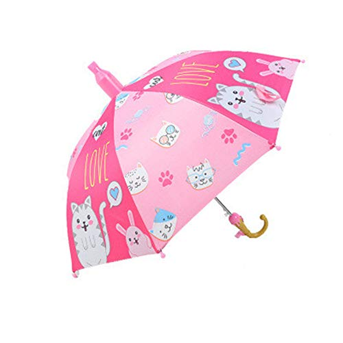 Cartoon Kinder Regenschirm Tier mit wasserdichter Hülse Langer Griff Regenschirm Werbung Regenschirm Student Regenschirm