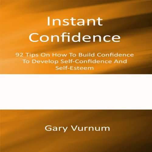 Instant Confidence audiobook cover art