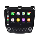 MekedeTech Android 10 Car Radio Stereo Player 10.1 inch Touch Screen GPS Navigation Built-in DSP Bluetooth Head Unit for Honda Accord Supports Full RCA Output Backup Camera WiFi Built-in Carplay…