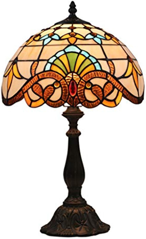 LED Schreibtischlampe Europischen Retro Mode Augenpflege Schreibtischlampe Für Dekorieren Studie Schlafzimmer Wohnzimmer Lichter (Größe   20cm)