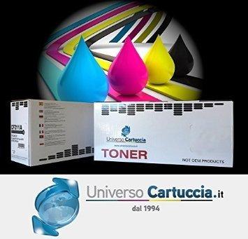 Set di 4 cartucce-toner per Epson Aculaser C1700 / C1750 / CX17 NF, colori: nero, ciano, magenta e giallo. Risorsa: 2000 pagine in bianco e nero, 1400 pagine a colori