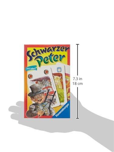 Ravensburger 23409 Peter - Juego de Mesa (2 Unidades), Color Negro
