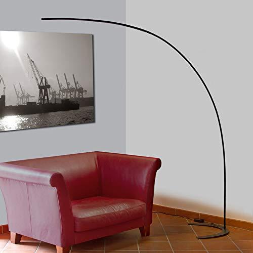 Lampada LED da terra 'Danua' (Moderno) colore Nero, in Metallo ad es. Studio & Ufficio (1 luce, A+) di Lindby   lampada LED da terra