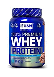 Packed with protein: USN 100 Percent Whey protein shake is packed with 23 g of protein per serving, making it a perfect post-workout shake No added sugar: USN's 100 Percent Whey protein powder only contains 1.7g of sugar per protein shake Full of BCA...