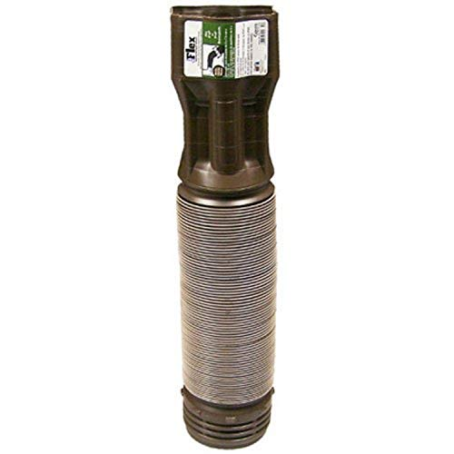 Flex-Drain 85019 Downspout Extension, Brown Now $6.99 (Was $17.99)