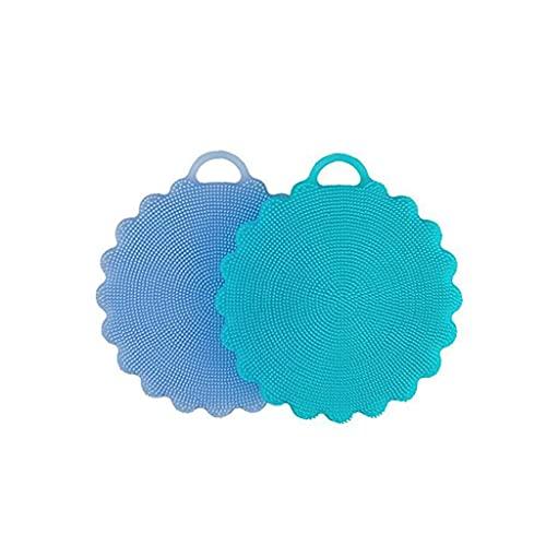 silicona multi-función de cocina cepillo de lavado de vajilla de cocina cepillo cepillo de silicona para lavar platos esponjoso de alimentos, aceite, cepillo de lavado de platos que no se pegue, tal